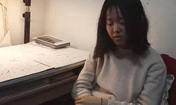 สาวน้อยวัย 14 มุ่งมั่นเพิ่มน้ำหนัก เหตุอยากช่วยชีวิตพ่อป่วยลูคีเมีย