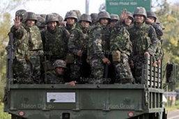 ทหารไทยดับ 2 เจ็บ 7 เหตุปะทะเขมร