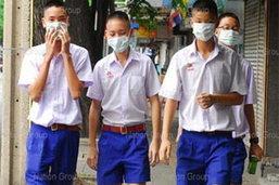 เด็กปทุมธานีติดหวัด 2009 อาการดีขึ้น