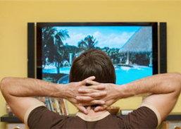 คนอเมริกันดูทีวีมากเป็นประวัติการณ์ในปี 2551-2552