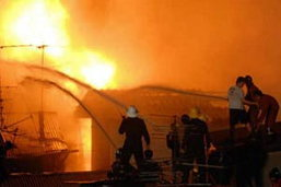 ไฟไหม้บ้านข้างศาลากลาง จ.ชัยภูมิ คลอกดับ1