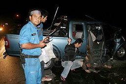 ปิกอัพชนประสานงาดับสยอง 2 ศพ