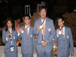 เด็กไทยสุดเจ๋ง คว้า4เหรียญคอมพิวเตอร์โอลิมปิก
