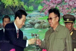 คิม จอง อิล ผู้นำโลกอาลัย คิม แด จุง