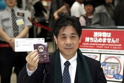 ชายจีนอาศัยสนามบินญี่ปุ่น 3 เดือนจะกลับวันนี้แล้ว