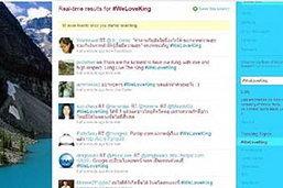 ข้อความทวิตเตอร์ WeLoveKing อันดับ1โลกครั้งแรก