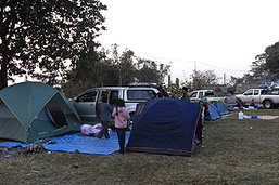 นักท่องเที่ยวเริ่มจับจองสถานที่รอชมฝนดาวตกเจมินิดส์บนภูชี้ฟ้า