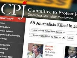 ทั่วโลกมีรายงานผู้สื่อข่าวถูกสังหาร 68 คน ในปีนี้
