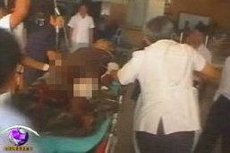 ชาวบ้านกาญจน์ฯ เหยียบกับระเบิดแนวชายแดนไทย-พม่า