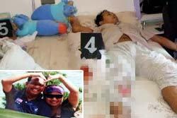 ผัวยิงเมียดับ ฆ่าตัวตามทิ้งลูก 5 วันกำพร้า