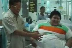 ส่งเด็กชายหนัก 300 กก.รักษาปอดติดเชื้อ