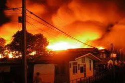 เพลิงไหม้ชุมชนแออัดห่างบ้านบางแค100ม.