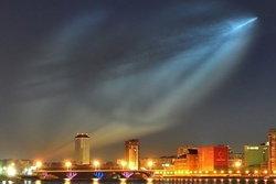 ชาวรัสเซียตื่น! เจอแสงประหลาดบนท้องฟ้า
