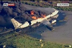 เครื่องบินบรรทุกน้ำมันกองทัพสหรัฐตก รอดปาฏิหาริย์3คน