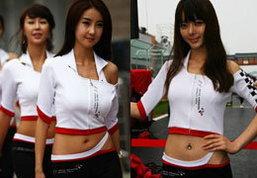 ขอบสนามF1ที่แดนกิมจิ สาวอึ๋มเพียบ!