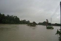 น้ำท่วมสุราษฎร์ฯ วิกฤตสัญจรอัมพาต