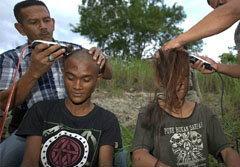 ตำรวจอินโดฯ จับสาวกพังค์ร็อคโกนหัว ส่งตัวดัดสันดาน