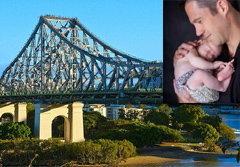 ครูหนุ่มโยนลูกทิ้งสะพาน ก่อนฆ่าตัวตายตาม