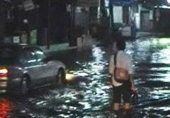 ประตูน้ำพัง เมืองปทุมฯจุดพลุอพยพด่วน