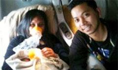 ระทึก! หญิงเอเชียคลอดลูกในห้องน้ำเครื่องบิน