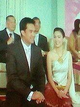งานแต่ง กบ-บรู๊ค แสนชื่นมื่น แม่ดาริกา มอบแหวนรับสะใภ้
