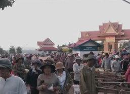 ชาวกัมพูชานับพันหนีแล้งมารับจ้างในไทย