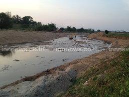 ภัยแล้งคุกคามแม่น้ำลาวแห้งขอดเร่งขุดลอก