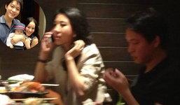 ภาพหลุด จิน สามีหนิง ทานข้าวกับ ไฮโซน้ำหวาน
