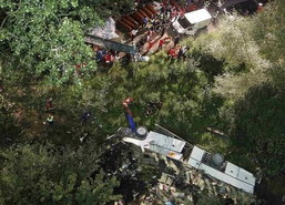 รถโค้ชผู้แสวงบุญอิตาลีประสบอุบัติเหตุดับ36