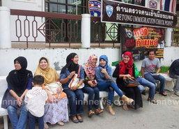 แรงงานไทยมุสลิมกลับยะลาฉลองวันฮารีรายอ