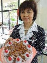 เค้กเผือก ครัวพระนครใต้ ไฟเบอร์สูง-กินแล้วไม่อ้วน