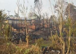 ปกครองตากสร้างบ้านให้ชาวกะเหรี่ยงหลังไฟไหม้