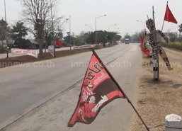 เสื้อแดงลำปางต้านรัฐประหาร-โจมตีสุเทพ