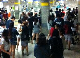 MRTเปิดให้บริการที่สถานีสวนจตุจักรปกติแล้ว