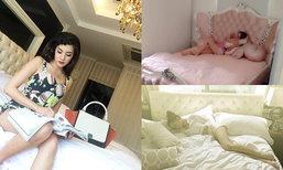 ส่องเตียงนอนดาราคนดัง สวยอลังการสุดๆ