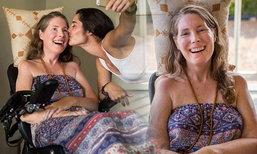 ศิลปินสาวป่วยโรค ALS ชวนเพื่อนจัดปาร์ตี้ครั้งสุดท้าย ก่อนการุณยฆาต