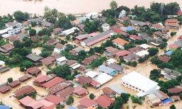"""สถานการณ์น้ำท่วม """"น่าน"""" เช้าวันนี้ (16 ส.ค.) ปริมาณน้ำยังสูง กระทบกว่า 4 พันครอบครัว"""