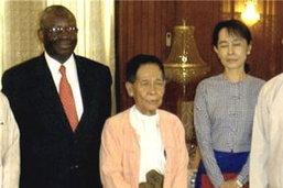 ทูตพิเศษสหประชาชาติเสร็จสิ้นการเยือนพม่า