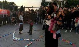 หนุ่มจีนหอบถุงยางอนามัย 999 กล่อง ไปสารภาพรัก