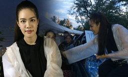 เกรซ กาญจน์เกล้า สุดซึ้งภาพคนไทย ร่วมพร้อมใจอาลัยพ่อหลวง