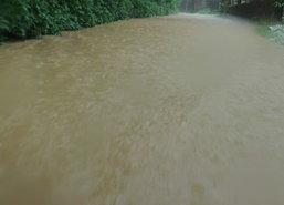 ฝนถล่มนราฯทำน้ำป่าไหลหลากท่วม3อ.สูงกว่า50ซม.