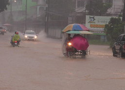 อุตุฯเผยใต้มีฝนหนัก-ไทยตอนบนอุณหภูมิสูงขึ้น