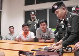 ทหาร-ชุดฉก.ศูนย์ดำรงธรรมจับแก๊งเงินกู้โหด
