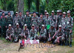 ทหาร จนท.อุทยานชุมพรบุกยึดผืนป่าคืนนับพันไร่