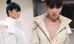 จำแทบไม่ได้ ใหม่ ดาวิกา ลุคสาวเกาหลีกับชุดแหวกร่องอกสุดแซ่บ