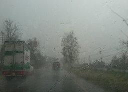 อุตุฯเตือนใต้ฝนหนักไทยตอนบนยังตก-กทม.เมฆมาก