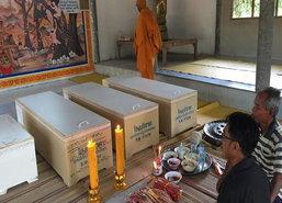 4ศพเหยื่อรถตู้ชนกับกระบะชลบุรีถึงบ้านที่จ.ศรีสะเกษ