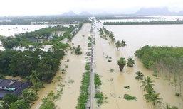 น้ำท่วมเมืองคอน รฟท.เปิดเดินรถสายใต้ถึงสุราษฎร์ฯ