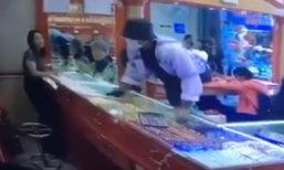 ตำรวจตั้งค่าหัว 2 แสน โจรปล้นร้านทองหาดใหญ่