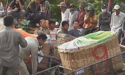 ผู้ค้าชาวกัมพูชา ปิดด่านอรัญฯ อีกรอบ ย้ำขอจ่ายภาษีปลาเท่าเดิม